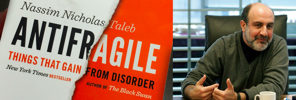Antifragile book